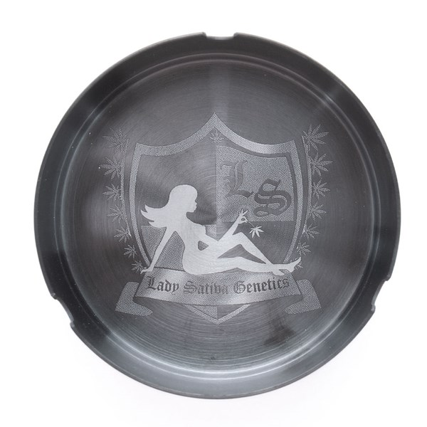 Lady Sativa Metallic Ashtray