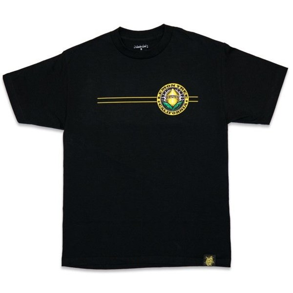 Lemon Life SC Clothing T-shirt - Lemon Tree California Seal, Black
