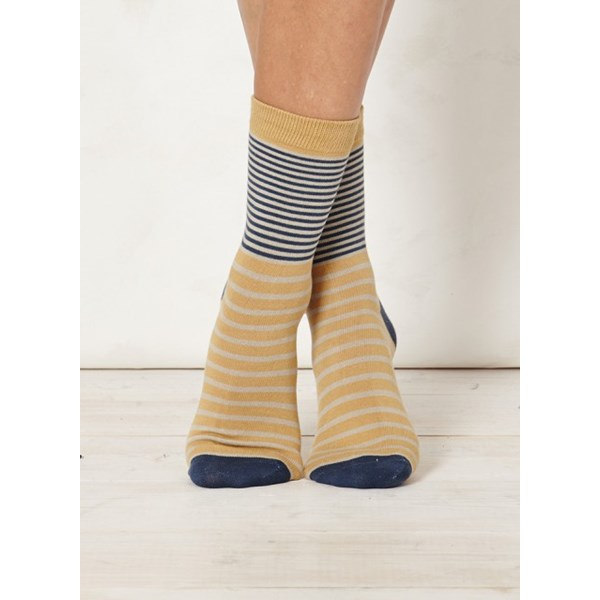 Thought Clothing Ladies Coira Sand Bamboo Socks