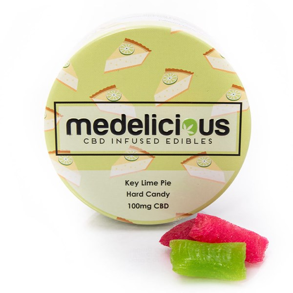 Medelicious CBD Sweets - Key Lime Pie