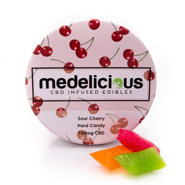 Medelicious CBD Sweets - Sour Cherry
