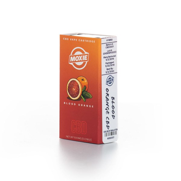 Moxie Vape Cartridge Pod - CBD (~ 50%) Blood Orange