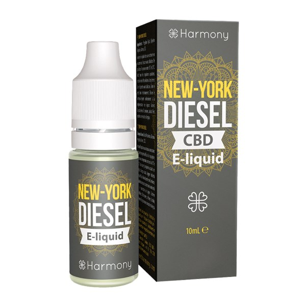 Harmony CBD E-liquid New York Diesel