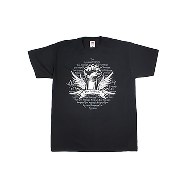 The Attitude Seedbank T-Shirt - Old School - Black