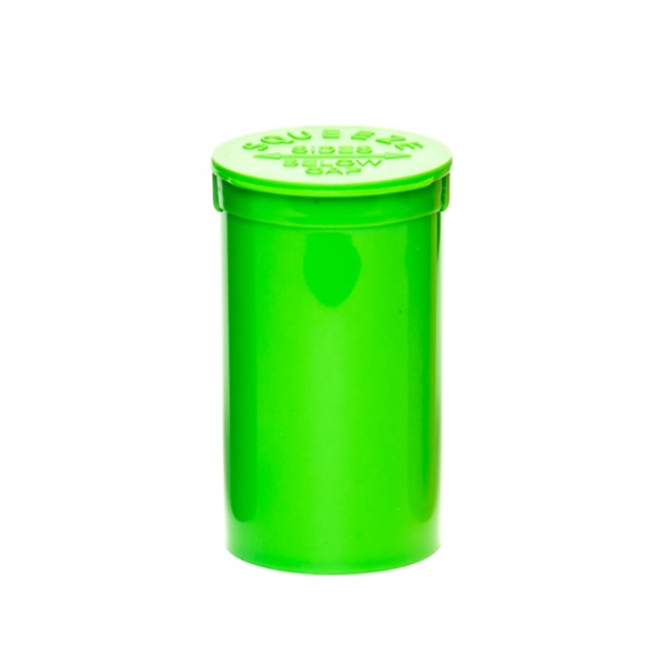 Pop Top Squeeze Containers Green