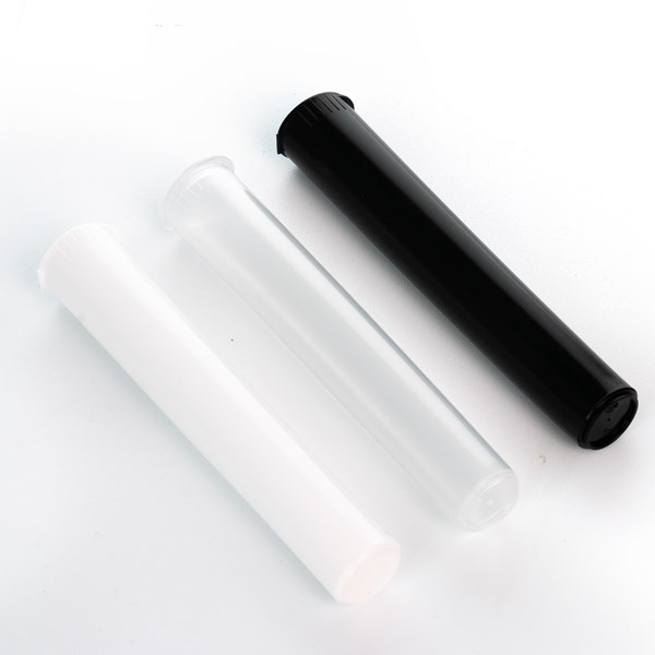 Pop Top Joint Blunt Tubes, White