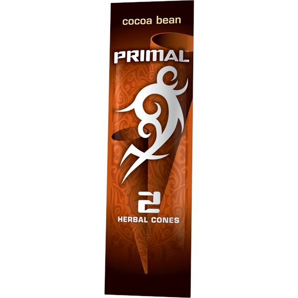 Primal Natural Tobacco Free Products Cocoa Bean Flavour Blunt