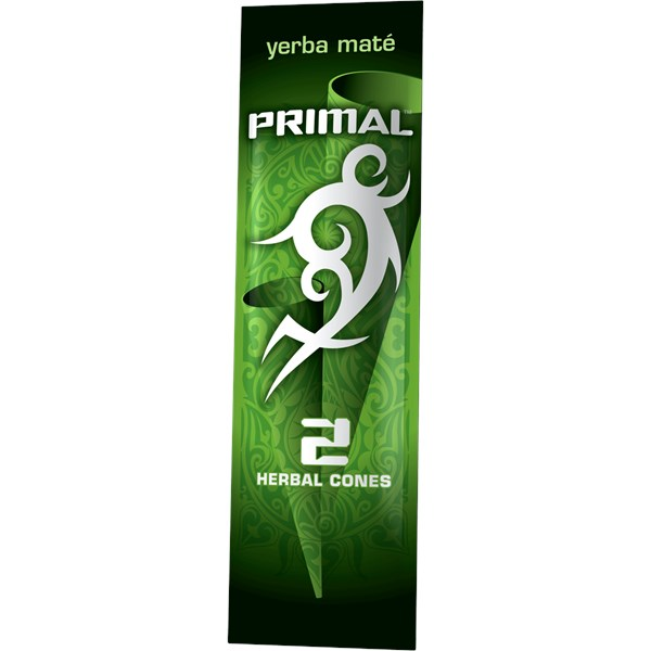 Primal Natural Tobacco Free Products Yerba Mate Flavour Blunt