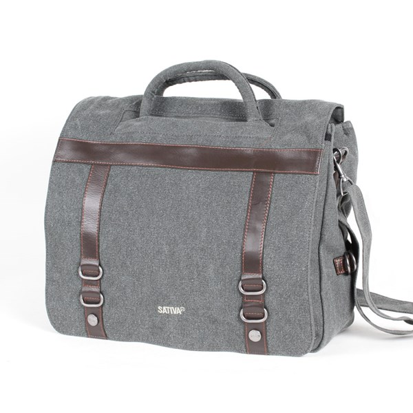 Sativa Hemp Bags Messenger Bag - Deluxe