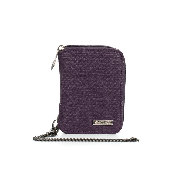 Sativa Hemp Bags Wallet with Chain