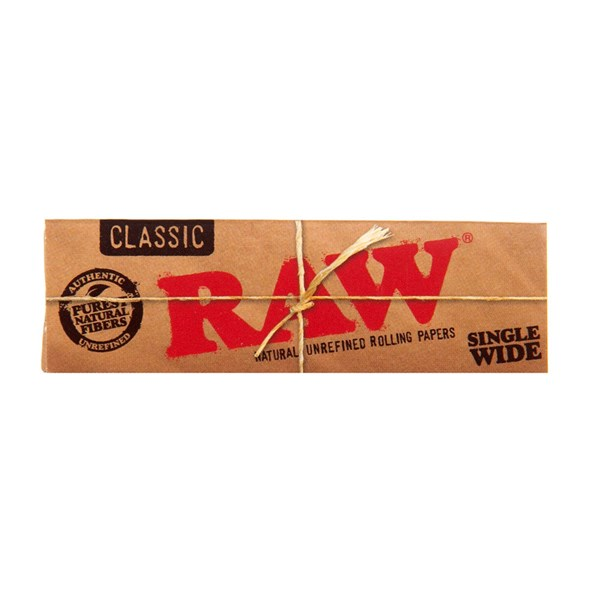 RAW Rolling Papers Classic Single Wide Rolling Papers