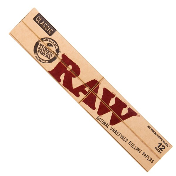 RAW Rolling Papers Classic Super Natural 12 Inch Rolling Papers