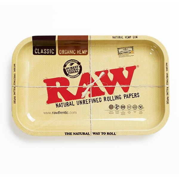 RAW Rolling Tray Metal - Classic