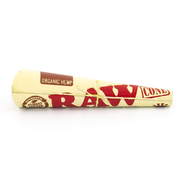 RAW Organic Hemp Kingsize Pre-Rolled Cones