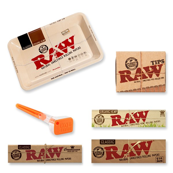 RAW  Rolling Gift Set with Cone Artist