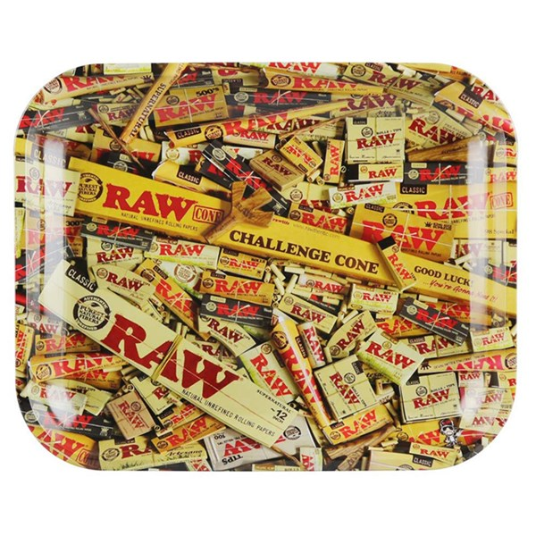 RAW Rolling Tray Metal - Mixed Pack