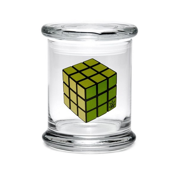 420Science Classic Jar - Rubik's Cube