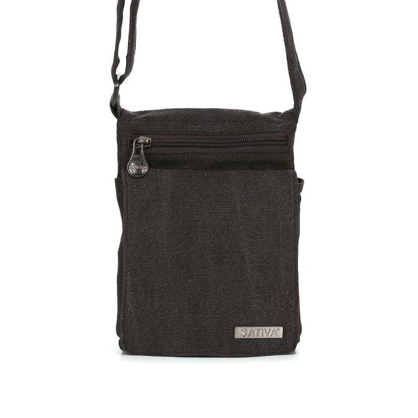 Sativa Hemp Bags Small Travel Shoulder Bag