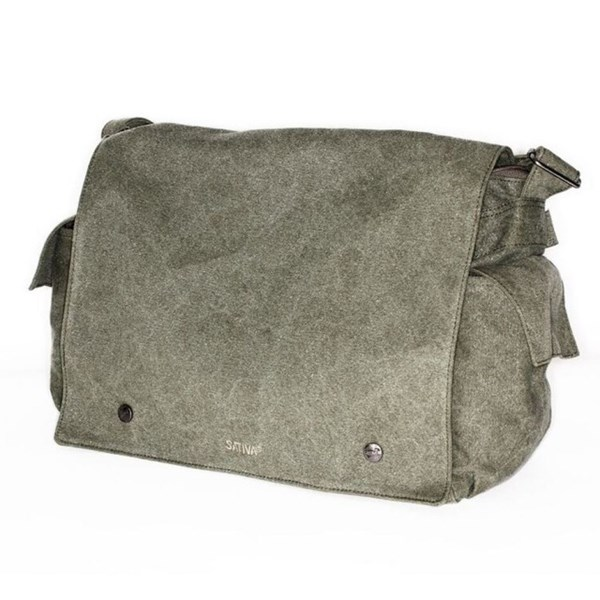 Sativa Hemp Bags Messenger Bag - Postman Style