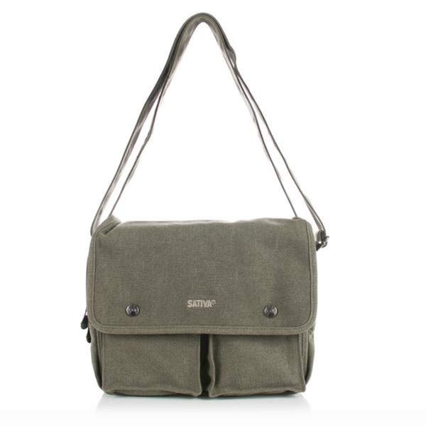 Sativa Hemp Bags Shoulder Bag (Medium Size)