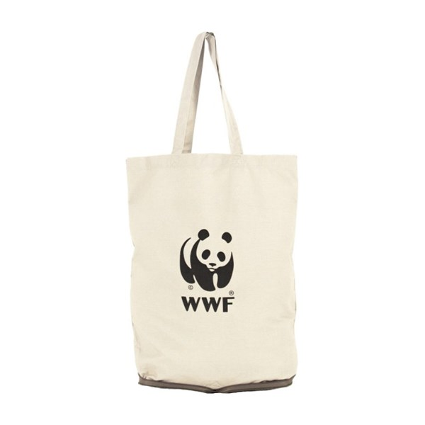 WWF Bags Eco Foldable Shopper With WWF Logo