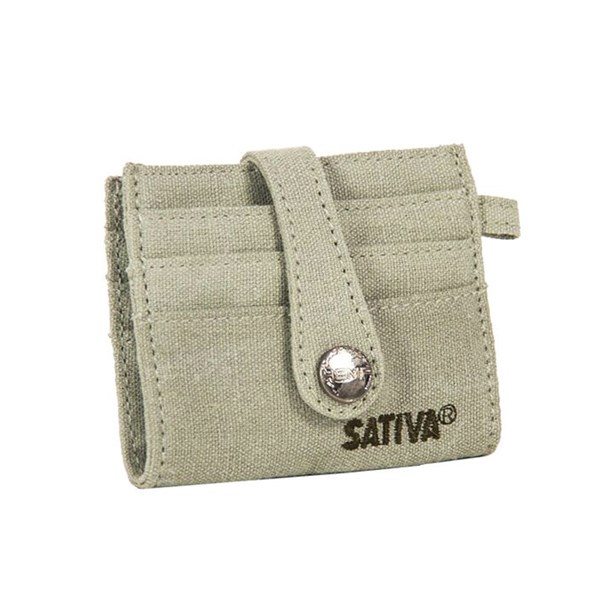 Sativa Hemp Bags Credit Cards Holder