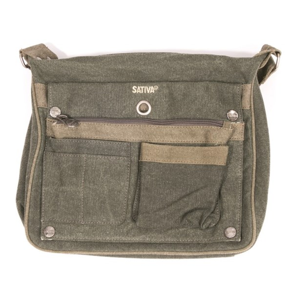 Sativa Hemp Bags Two Tone Shoulder Bag