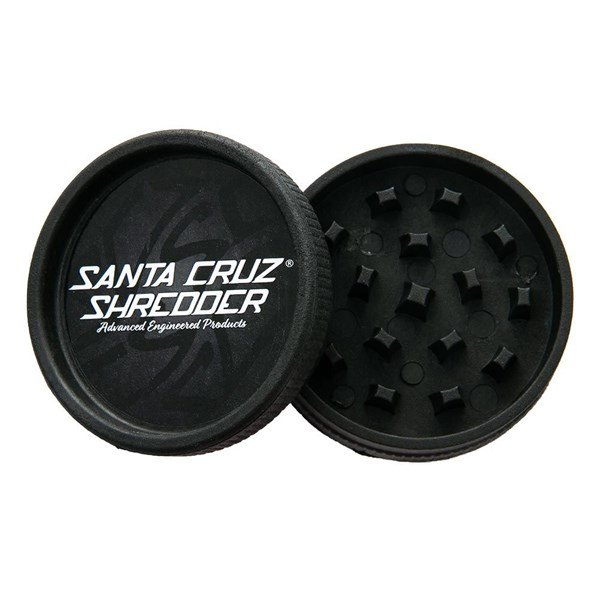 Santa Cruz Shredder  Hemp Grinder 2 Piece Black