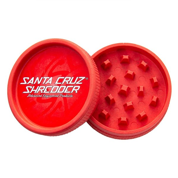 Santa Cruz Shredder  Hemp Grinder 2 Piece Red