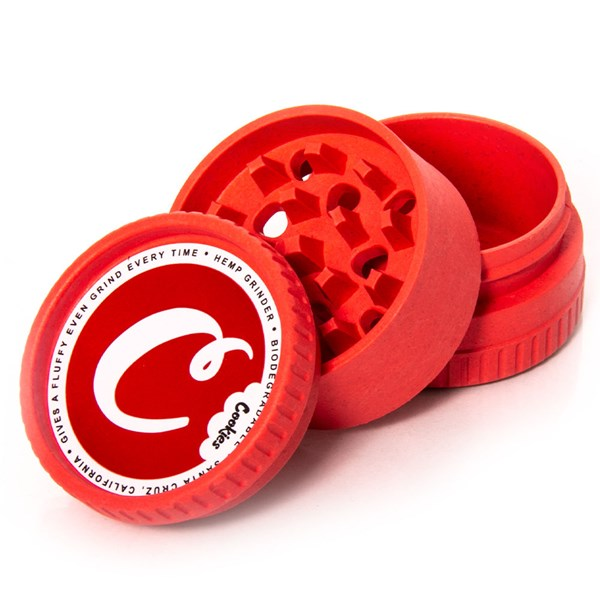 Santa Cruz Shredder  Hemp Grinder 3 Piece Red Cookies
