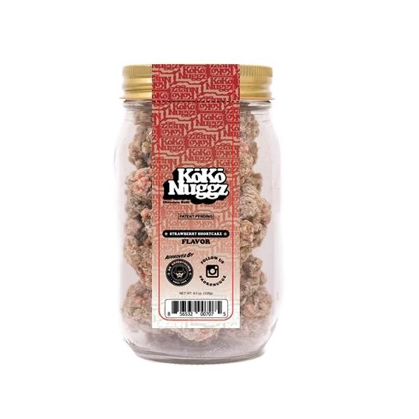 KokoNuggz Strawberry Shortcake Flavour Chocolate Budz