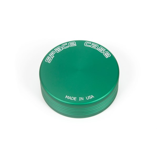 Space Case Magnetic 2 Piece Matte Grinder - Green