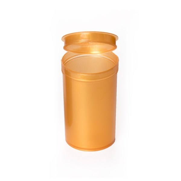 Pop Top Squeeze Containers Gold