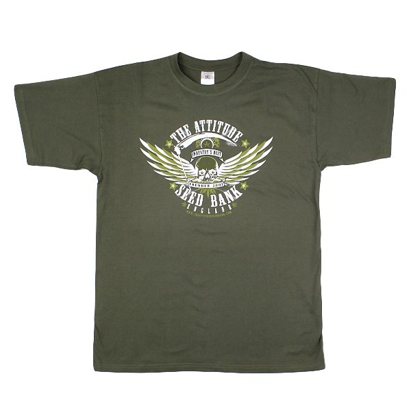 The Attitude Biker Patch T-Shirt