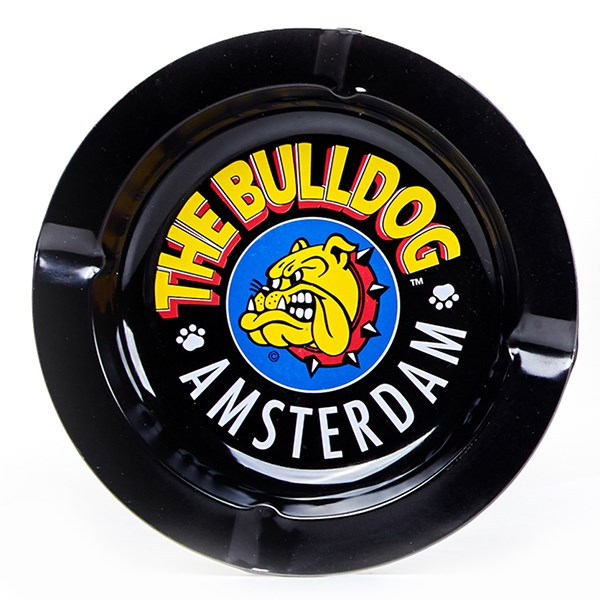 The Bulldog Amsterdam Ashtray Black