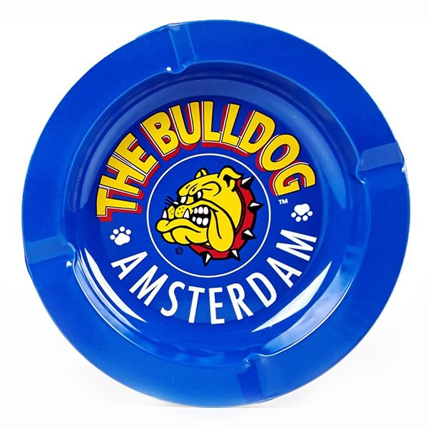 The Bulldog Amsterdam Ashtray Blue