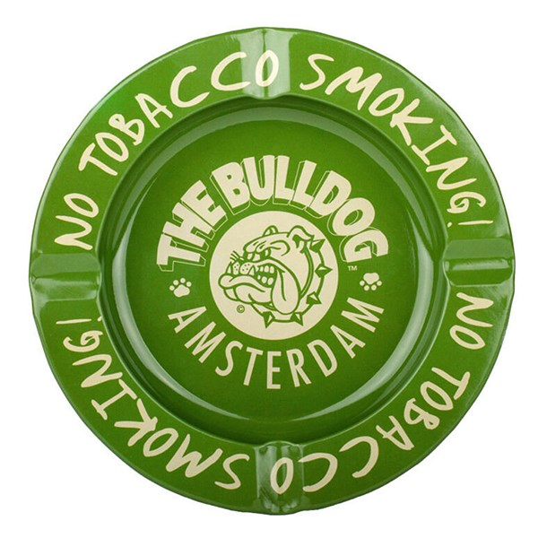 The Bulldog Ashtray No Tobacco Smoking
