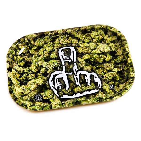 V Syndicate Metal Rolling Tray - The Finger Buds