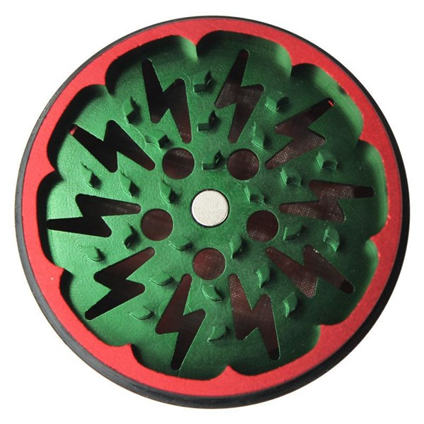 After Grow Grinders Thorinder 4 Part Grinder - Green/Red Limited Edition