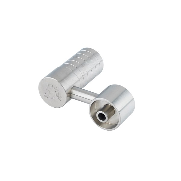 Titan Titanium Nails Domeless Side Arm Female 14/18mm