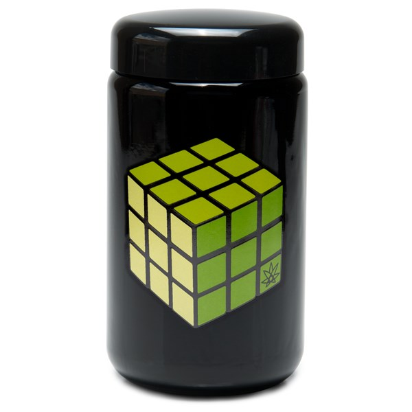 420Science UV Stash Jar - Rubik's Cube