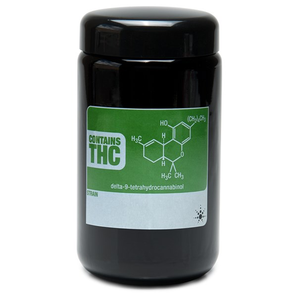 420Science UV Stash Jar - THC Write and Erase