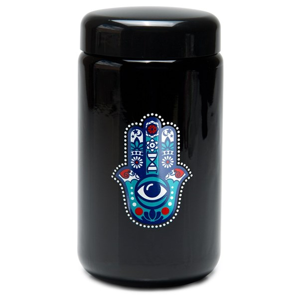 420Science UV Stash Jar - Hamsa