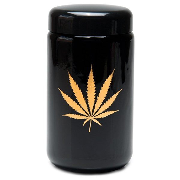 420Science UV Stash Jar - Gold Leaf