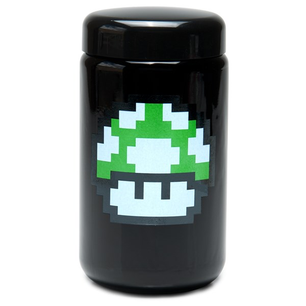 420Science UV Stash Jar - 1up Mushroom