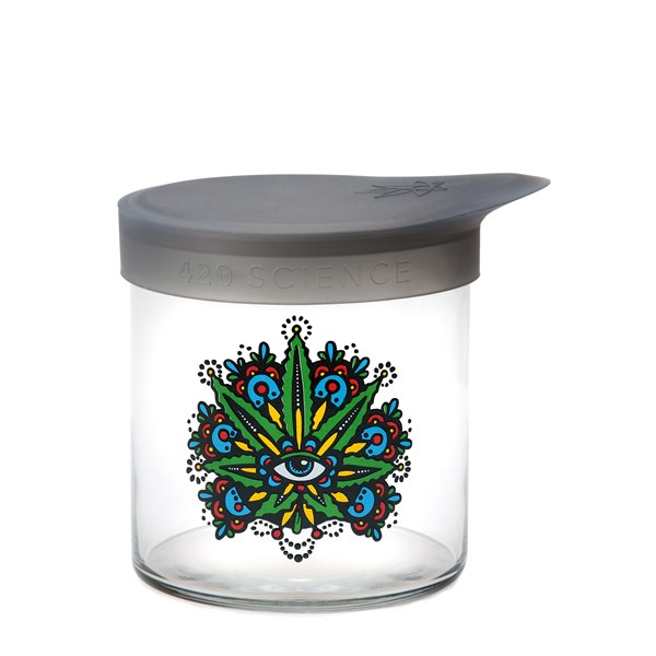 420Science Soft Top Jar - Leaf Eye