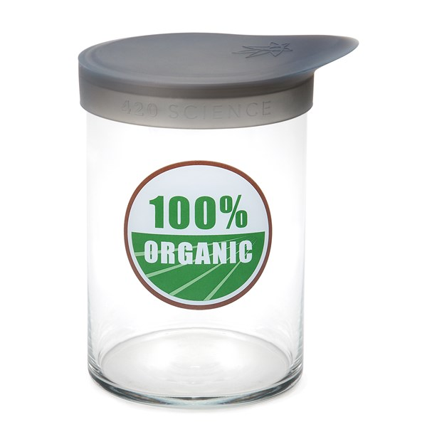 420Science Soft Top Jar - 100% Organic