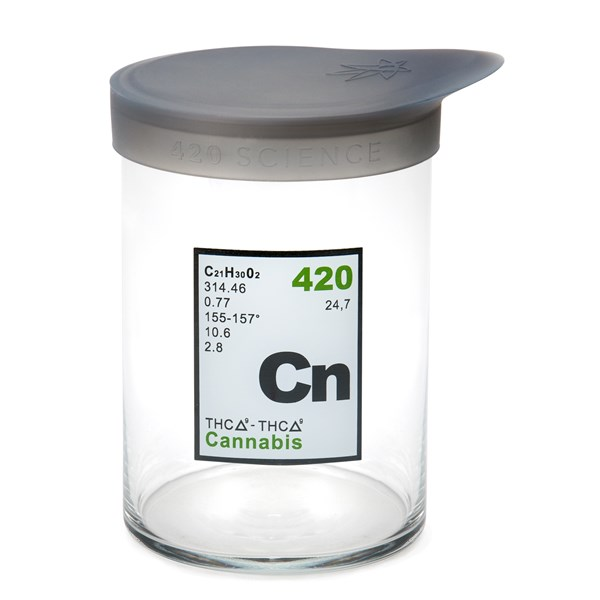 420Science Soft Top Jar - Cannabis Element