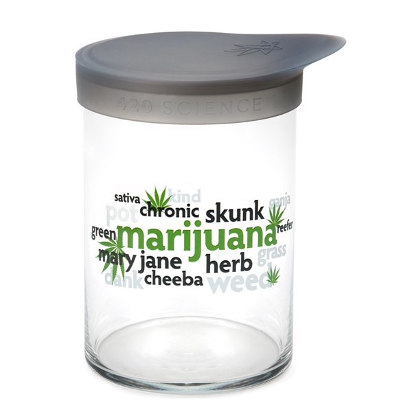 420Science Soft Top Jar - Word Cloud