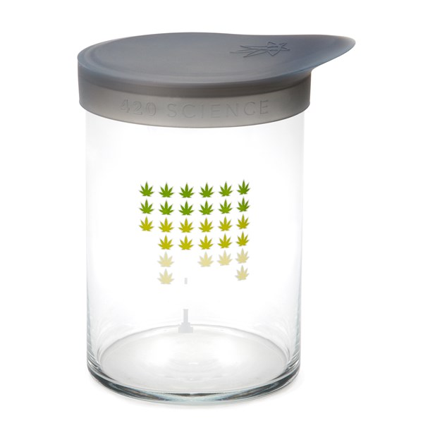 420Science Soft Top Jar - Weed Invaders